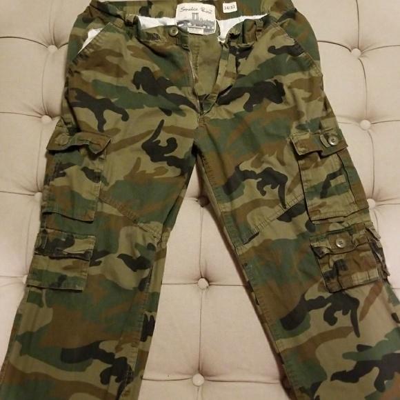 31c69861cc3a5 Smoke Rise Army Fatigue Cargo Pants. M_5a7fa25b9cc7ef95c34b3493
